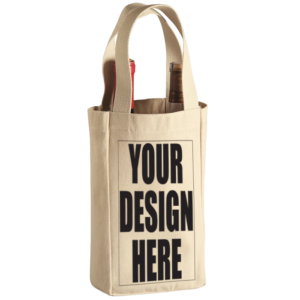 Wine Tote Bag – 2 Bottle